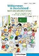 Cover-Bild zu Willkommen in Deutschland - lesen und schreiben lernen von Kresse, Tina