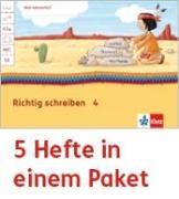 Cover-Bild zu Mein Anoki-Übungsheft. Richtig schreiben. Arbeitsheft Klasse 4 (5-er Paket)