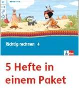 Cover-Bild zu Mein Anoki-Übungsheft. Richtig rechnen. Arbeitsheft Klasse 4 (5-er Paket)