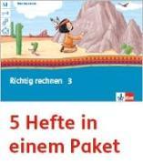 Cover-Bild zu Mein Anoki-Übungsheft. Richtig rechnen. Arbeitsheft Klasse 3 (5-er Paket)