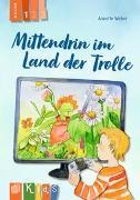 Cover-Bild zu Mittendrin im Land der Trolle Lesestufe 1 von Weber, Annette
