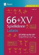 Cover-Bild zu 66 + XV Spielideen Latein von Bartl, Florian