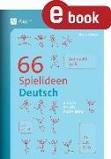 Cover-Bild zu 66 Spielideen Deutsch (eBook) von Kiener, Barbara
