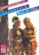 Cover-Bild zu Javanisch Wort für Wort