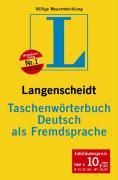 Cover-Bild zu Deutsch als Fremdsprache. Taschenwörterbuch
