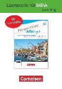 Cover-Bild zu Perspectives - Allez-y !, A2, Kurs- und Übungsbuch als E-Book mit Audios und Videos, Gedruckter Lizenzcode für BlinkLearning (24 Monate für Lehrkräfte)