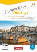 Cover-Bild zu Perspectives - Allez-y !, A1, Kurs- und Übungsbuch mit Lösungsheft und Vokabeltaschenbuch, Inkl. komplettem Hörmaterial (3 CDs) und Video-DVD von Fischer, Martin B.
