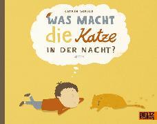 Cover-Bild zu Was macht die Katze in der Nacht? von Wiehle, Katrin