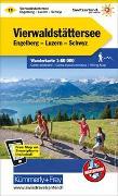 Cover-Bild zu Hallwag Kümmerly+Frey AG (Hrsg.): Vierwaldstättersee Wanderkarte Nr. 11. 1:60'000