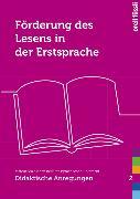 Cover-Bild zu Förderung des Lesens in der Erstsprache von Riss, Maria