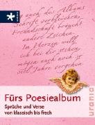 Cover-Bild zu Fürs Poesiealbum
