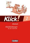 Cover-Bild zu Klick! Deutsch 2. Handreichungen für den Unterricht von Dammenhayn, Heidemarie