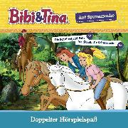 Cover-Bild zu Bibi & Tina - Auf Spurensuche (Die Schnitzeljagd-Falle/ Die rätselhafte Schatzsuche) (Audio Download) von Dittrich, Markus