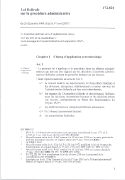 Cover-Bild zu Loi fédérale sur la procédure administrative (PA)