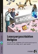 Cover-Bild zu Lesespurgeschichten 5./6. Klasse - Religion (eBook) von Göbel, Ursula