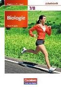 Cover-Bild zu Biologie - Ausgabe Volk und Wissen, Regelschule Thüringen - Neue Ausgabe, 7./8. Schuljahr, Arbeitsheft von Angermann, Iris