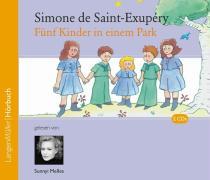 Cover-Bild zu Fünf Kinder in einem Park