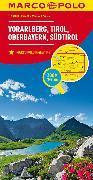 Cover-Bild zu Österreich Blatt3 Vorarlberg,Tirol,Oberbayern. 1:200'000