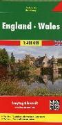Cover-Bild zu England - Wales, Autokarte 1:400.000. 1:400'000 von Freytag-Berndt und Artaria KG (Hrsg.)