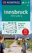 Cover-Bild zu KOMPASS Wanderkarte Innsbruck und Umgebung. 1:50'000
