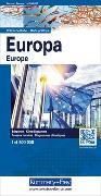 Cover-Bild zu Europa politisch. 1:4'500'000 von Hallwag Kümmerly+Frey AG (Hrsg.)