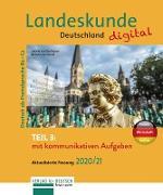 Cover-Bild zu Landeskunde Deutschland digital Teil 3 - Aktualisierte Fassung 2020/21 (eBook) von Luscher, Renate