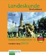 Cover-Bild zu Landeskunde Deutschland - Aktualisierte Fassung 2020/21 von Luscher, Renate