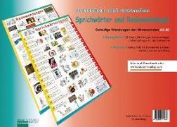 Cover-Bild zu Lernplakate Sprichwörter und Redewendungen von Luscher, Renate