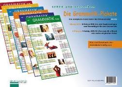 Cover-Bild zu Die Grammatik-Plakate. Übungsheft und 6 Plakate von Luscher, Renate