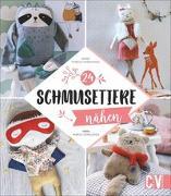 Cover-Bild zu Schmusetiere nähen von Thiboult-Demessence, Karine