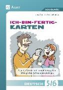 Cover-Bild zu Ich-bin-fertig-Karten Deutsch Klassen 5/6 von Grzelachowski, Lena-Christin