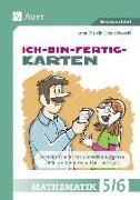 Cover-Bild zu Ich-bin-fertig-Karten Mathematik Klassen 5-6 von Grzelachowski, Lena-Christin