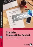 Cover-Bild zu Startklar: Stundenbilder Deutsch 5. Klasse (eBook) von Grzelachowski, Lena-Christin