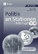 Cover-Bild zu Politik an Stationen 9-10 von Gellner, Lars