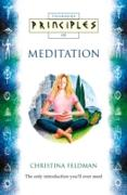 Cover-Bild zu Feldman, Christina: Meditation: The only introduction you'll ever need (Principles of) (eBook)