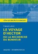 Cover-Bild zu Le Voyage D'Hector ou la recherche du bonheur. Königs Erläuterungen (eBook) von Lelord, François