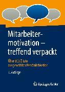 Cover-Bild zu Mitarbeitermotivation - treffend verpackt (eBook)