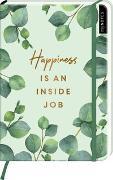 Cover-Bild zu myNOTES Notizbuch A5: Happiness is an inside job