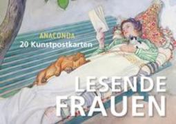 Cover-Bild zu Postkartenbuch Lesende Frauen von Anaconda (Hrsg.)