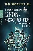 Cover-Bild zu Schaurigschöne Spukgeschichten für schwarze Nächte von Scheinberger, Felix (Hrsg.)