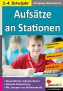 Cover-Bild zu Aufsätze an Stationen 3/4 (eBook) von Wertenbroch, Wolfgang