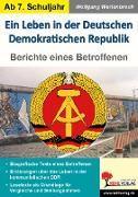 Cover-Bild zu Ein Leben in der Deutschen Demokratischen Republik (eBook) von Wertenbroch, Wolfgang