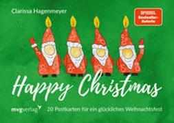 Cover-Bild zu Hagenmeyer, Clarissa: Happy Christmas: Postkarten