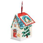 Cover-Bild zu Galison: Snow Globe 130 Piece Puzzle Ornament