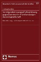 Cover-Bild zu Wietz, Christopher: Vermögensbetreuungspflichtverletzung gegenüber einer im Inland ansässigen Auslandsgesellschaft
