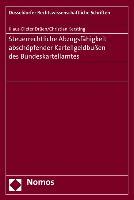 Cover-Bild zu Drüen, Klaus-Dieter: Steuerrechtliche Abzugsfähigkeit von Kartellgeldbußen des Bundeskartellamtes