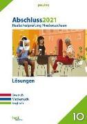 Cover-Bild zu Abschluss 2021 - Realschulprüfung Niedersachsen Lösungen