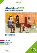 Cover-Bild zu Abschluss 2021 - Realschulprüfung Hessen - Lösungen