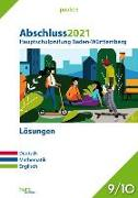 Cover-Bild zu Abschluss 2021 - Hauptschulprüfung Baden-Württemberg - Lösungen