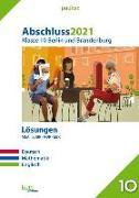 Cover-Bild zu Abschluss 2021 - Klasse 10 Berlin und Brandenburg Lösungen